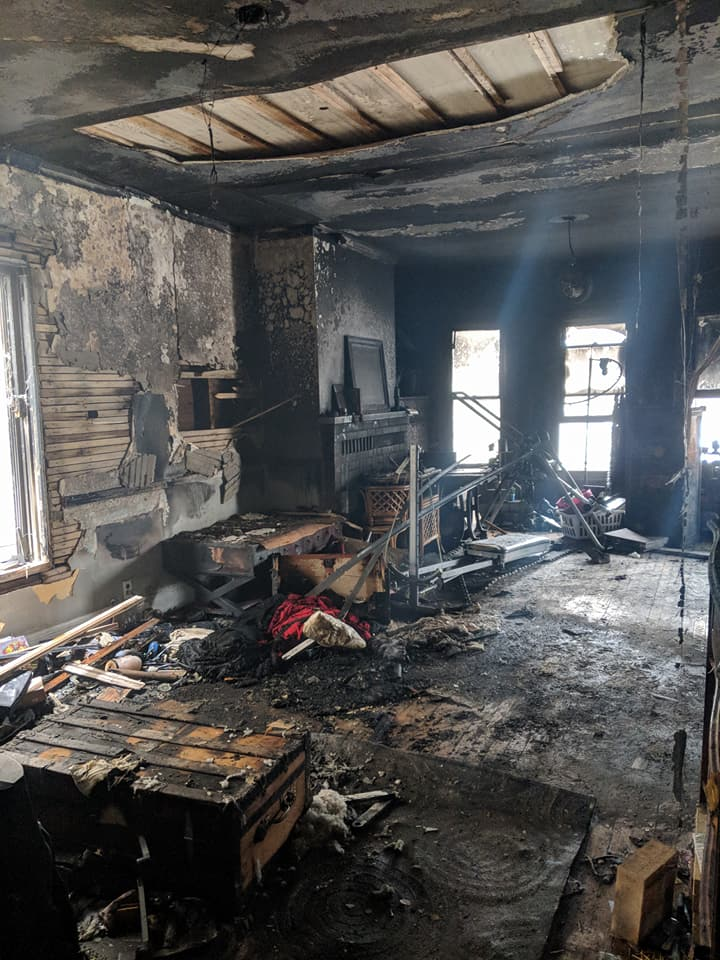 A fire at their rental home meant that Jenna and Jayson had to start their house hunt way sooner than expected.