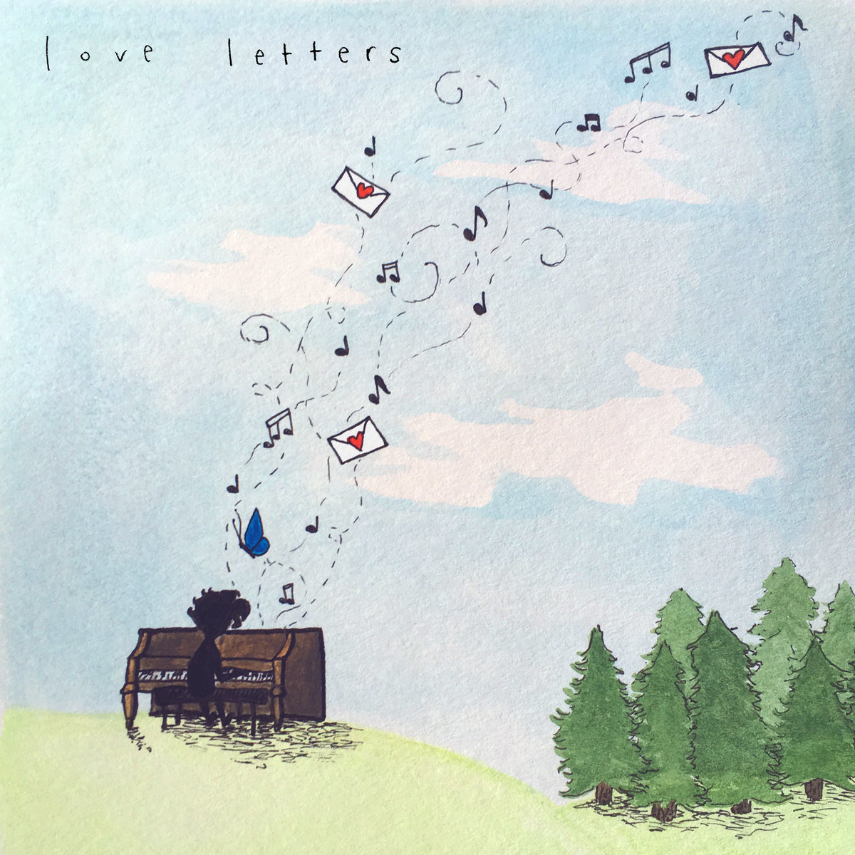"New EP ""Love Letters"" AVAILABLE NOW - This new EP features 3 songs that I wrote during my time at the Radiant School of Worship. Available on most major streaming platforms."