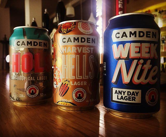 New Camden Lager Specials😻❣️Week Nite 3% ABV 🍻 Harvest Hells 4,6% ABV 🍻 Hols Tropical 5,2% ABV 🍻#beer #drinks #pub #craft #craftbeer #lager #highabvbeer #lowabvbeer #camden #camdenbrewery #camdenheaven #camdenlager #tropicallager