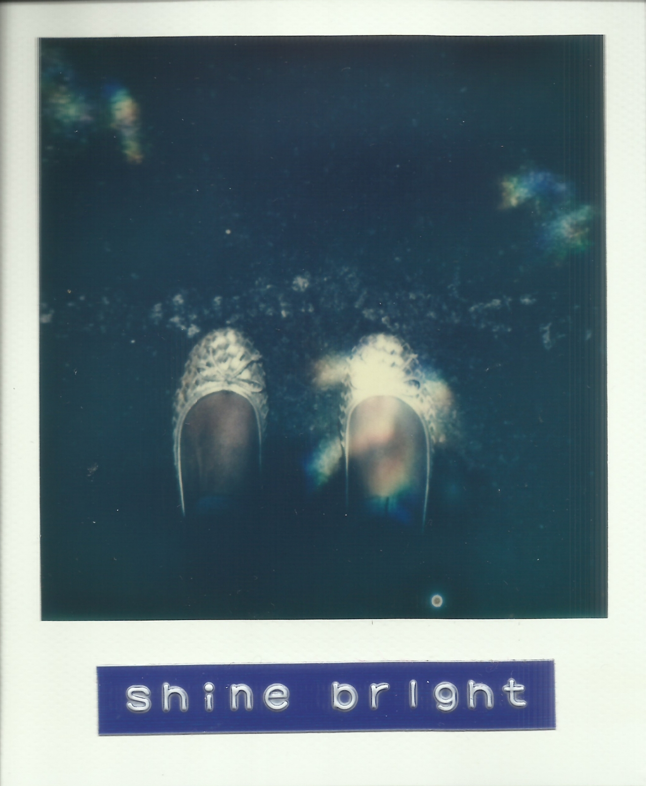 Shine Bright Polaroid