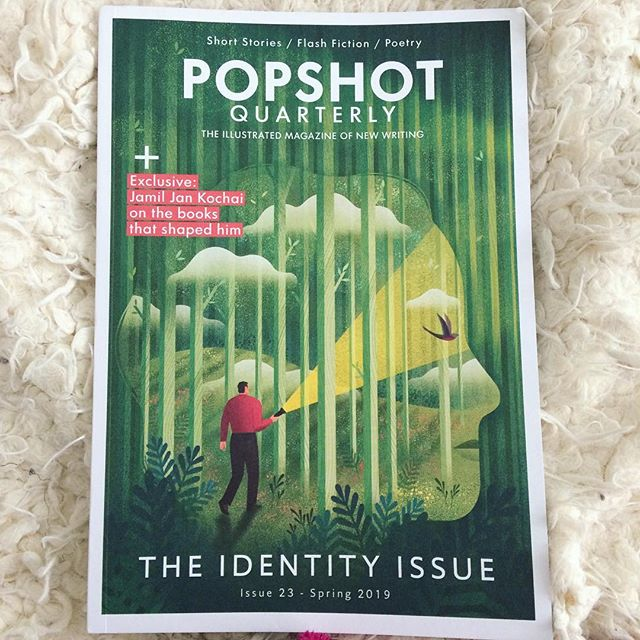 Popshot arrived in the post this morning! L😍VE this magazine full of flash fiction and poetic gorgeousness and fresh words like never-before-seen exotic fruit. And the most succulent illustration. Perfect timing 😌🧘🏽‍♀️