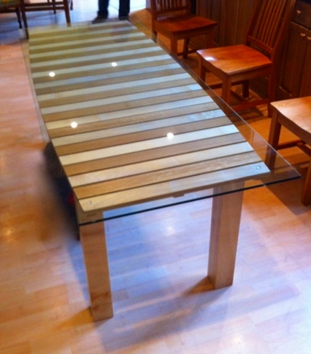 Oak And Sycamore Table