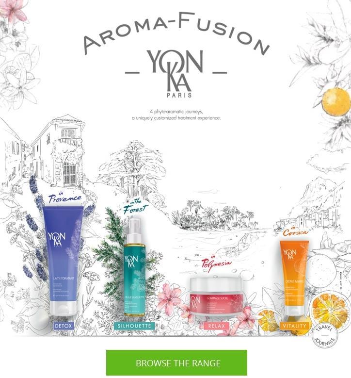 Yonka Paris aroma fusion