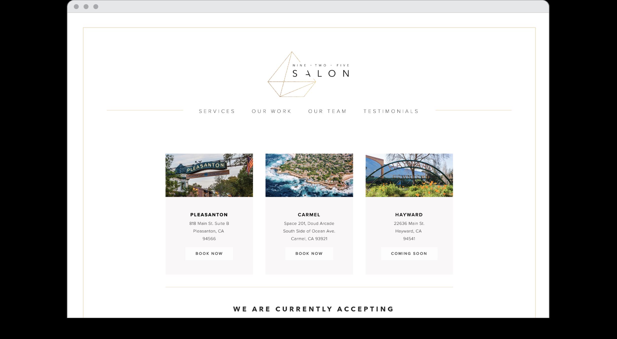 Nine Two Five Salon Web Design.png