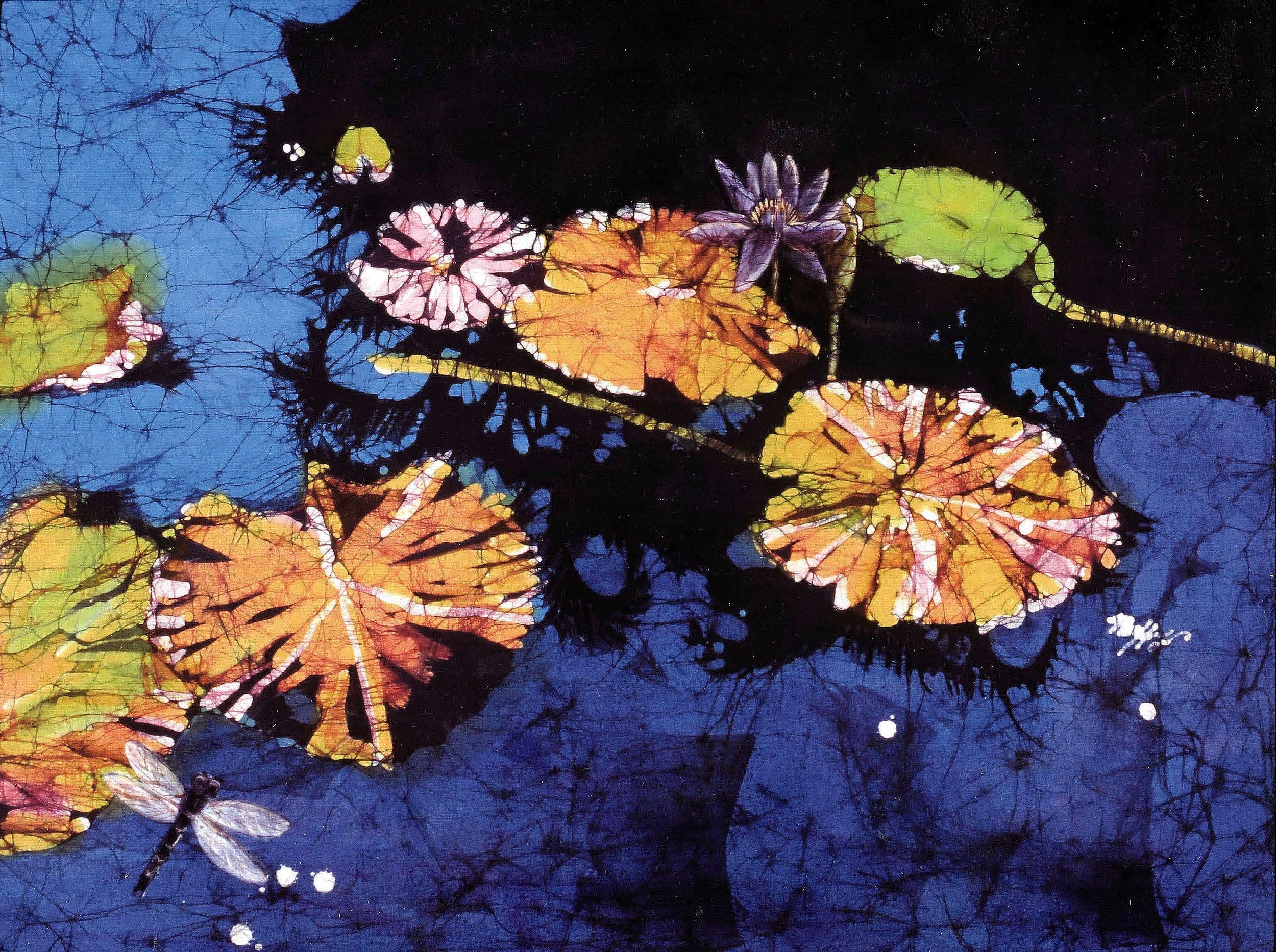 "Muffy Clark Gill  ""Tropical Pool"""
