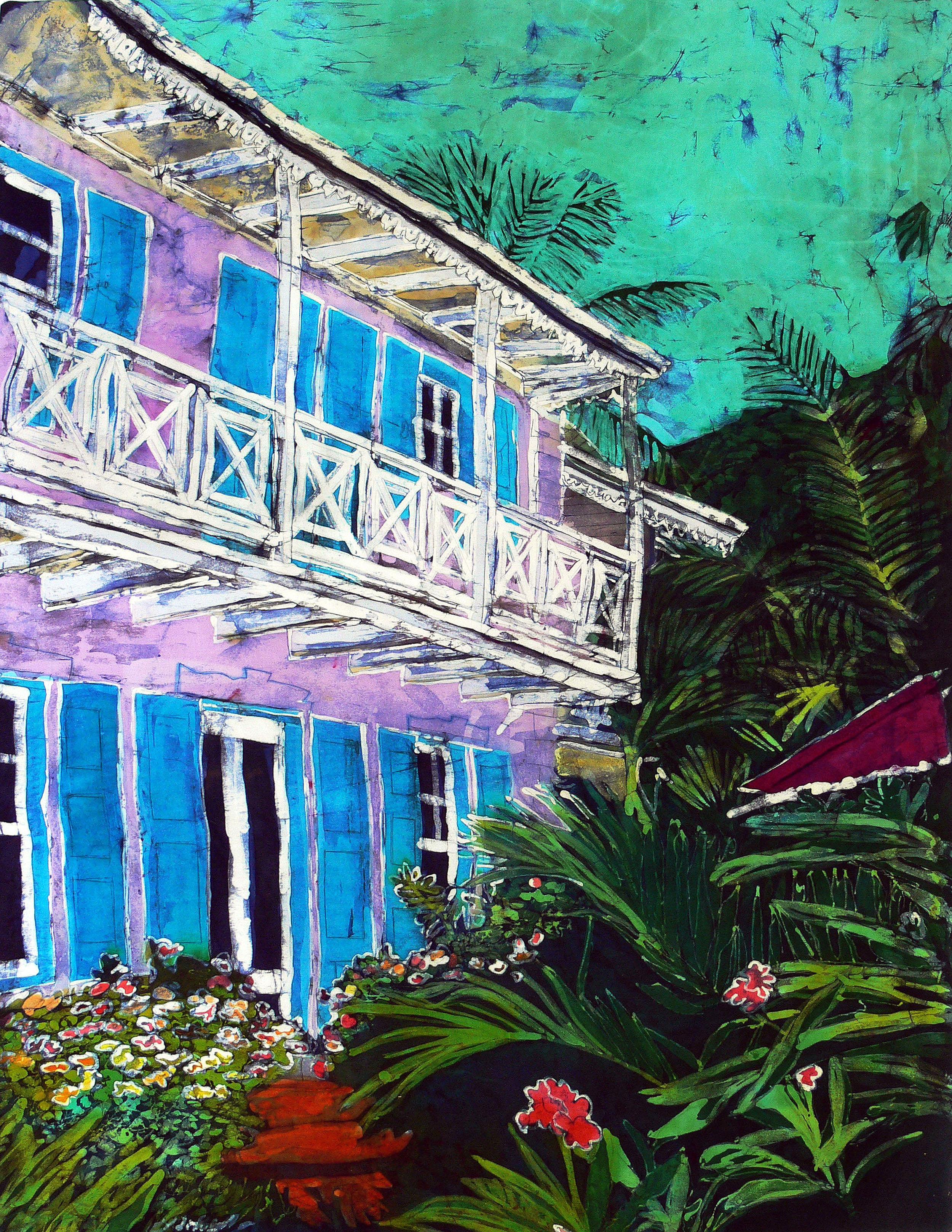 """Muffy Clark Gill  """"Veranda View"""""""
