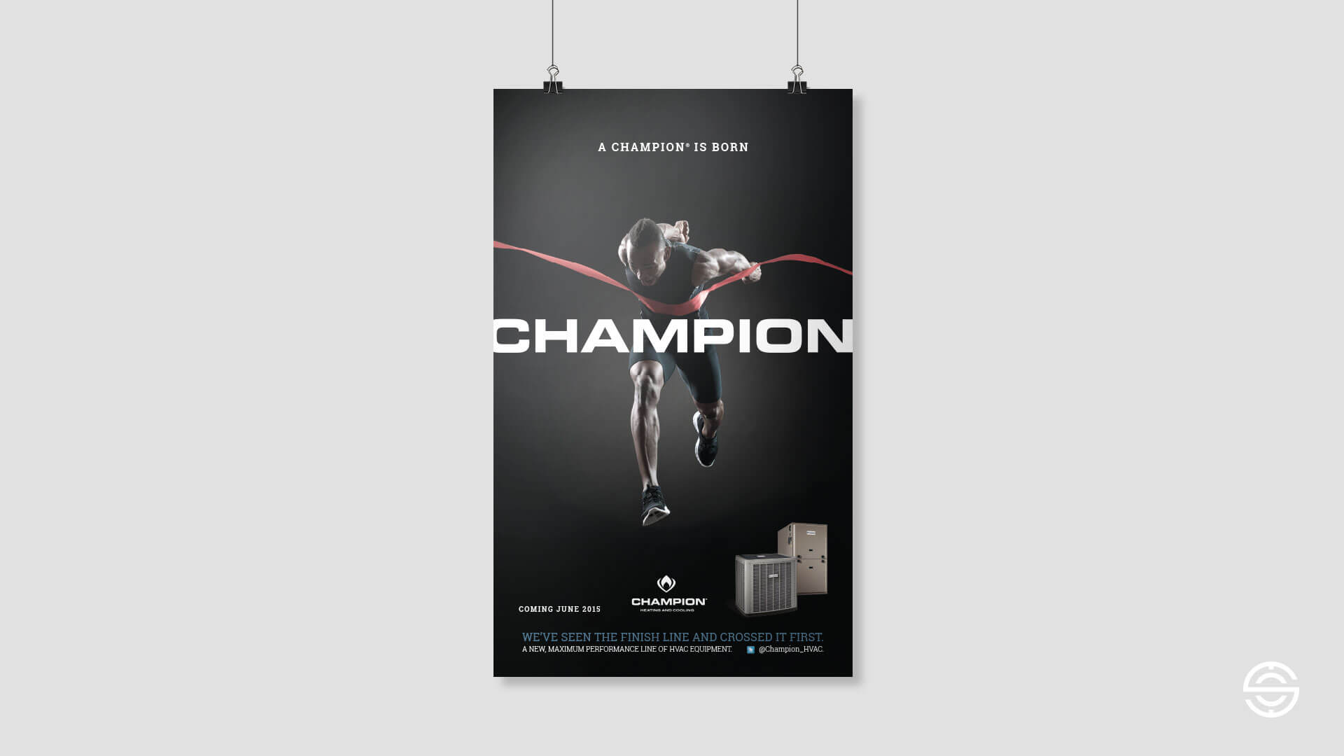 Brand Launch Poster