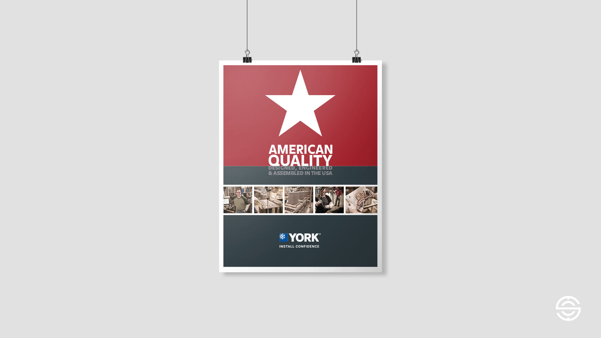 American Quality Poster