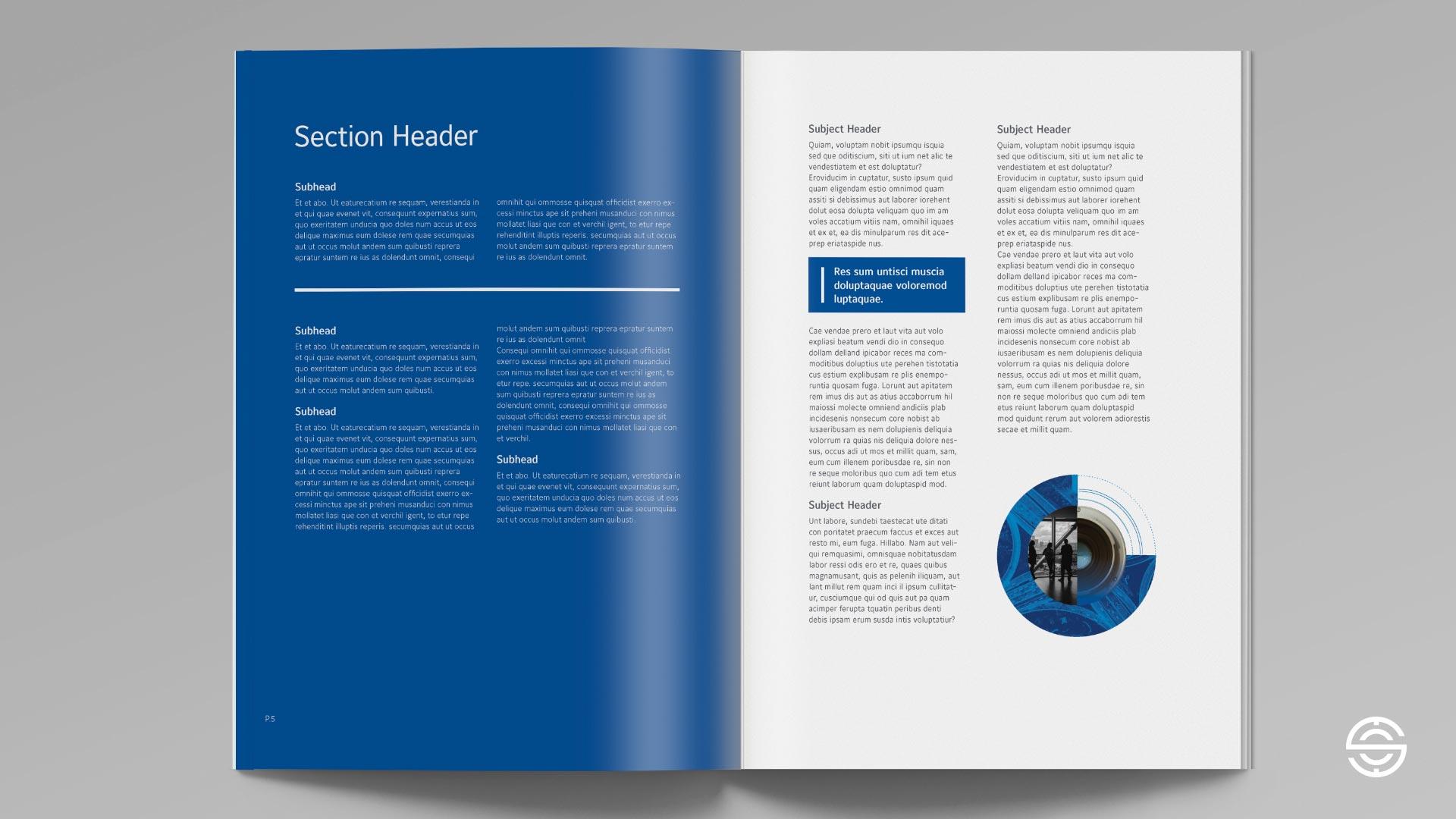 Proposed Johnson Controls Digital Solutions spread design