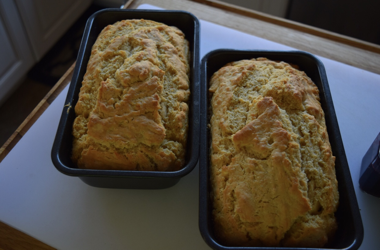 Fresh from the oven. Beer Bread