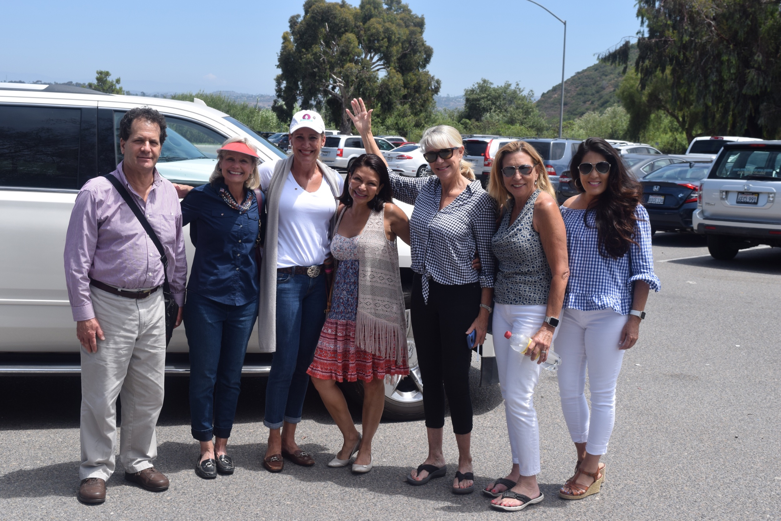My fellow Rancho Sante Fe Rotarians as we head to Camp Pendleton to get our local troops kids ready for back to school.