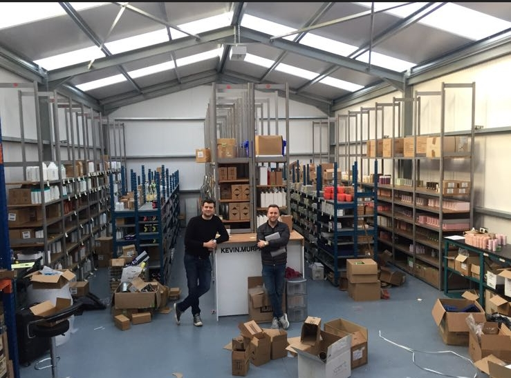 2016 - we built our own warehouse