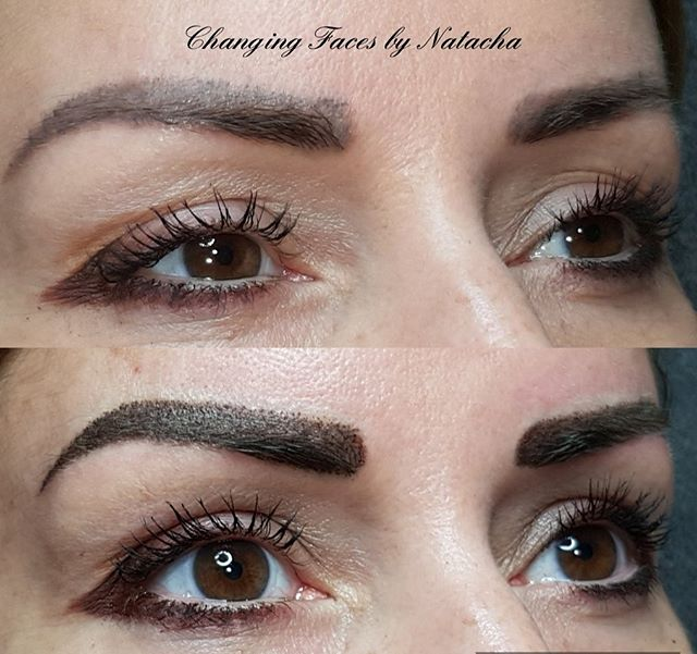 So! As per stories above.... Here we go. Absolute perfection by @changingfacesbynatacha with my brows. In fairness I'm a difficult client as I have a fondness for symmetry so Natacha had a tough job ahead of her! I'm 1000% happy with my powder brows. Now these are dark because my basic colouring is dark, and because I had over plucked in my younger years, stoke brows weren't for me. I have added some other work she did today, so lots of options for other work. If I could give Natacha 1000 stars I would. She's an absolute lady and so lovely to talk to honestly throughout the procedure. Even as lovely as she is, I want my brows to be right! 🤩So this is my top up after 7 weeks, normally it's after 4 so a lot of fading from the first. Cannot recommenced her enough, it's not an ad and my true and honest opinion! Head over to @studio58beauty to book xx 🥰#eyebrows #semipermanent #artist #studio58 #dundalk