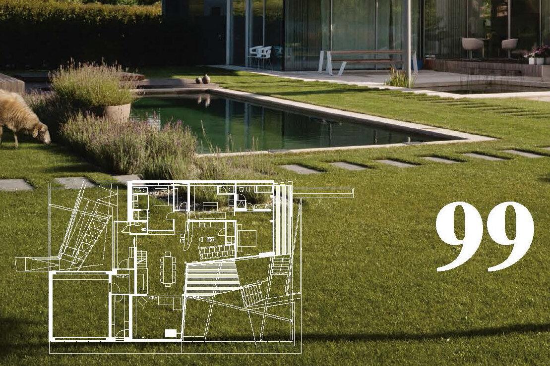 Garden Zone - Feature in print magazine 100 österreichische Häuser