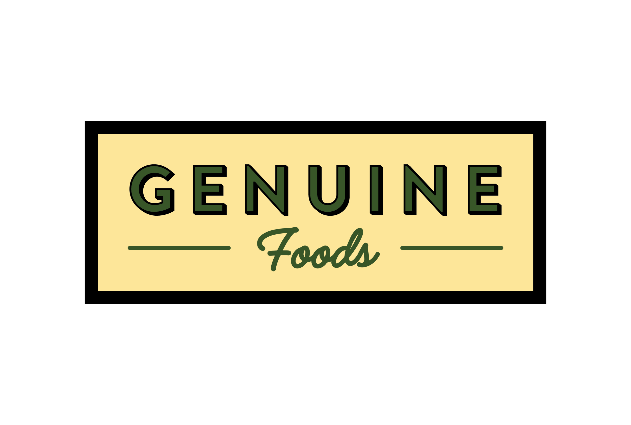 Genuine Foods Logo