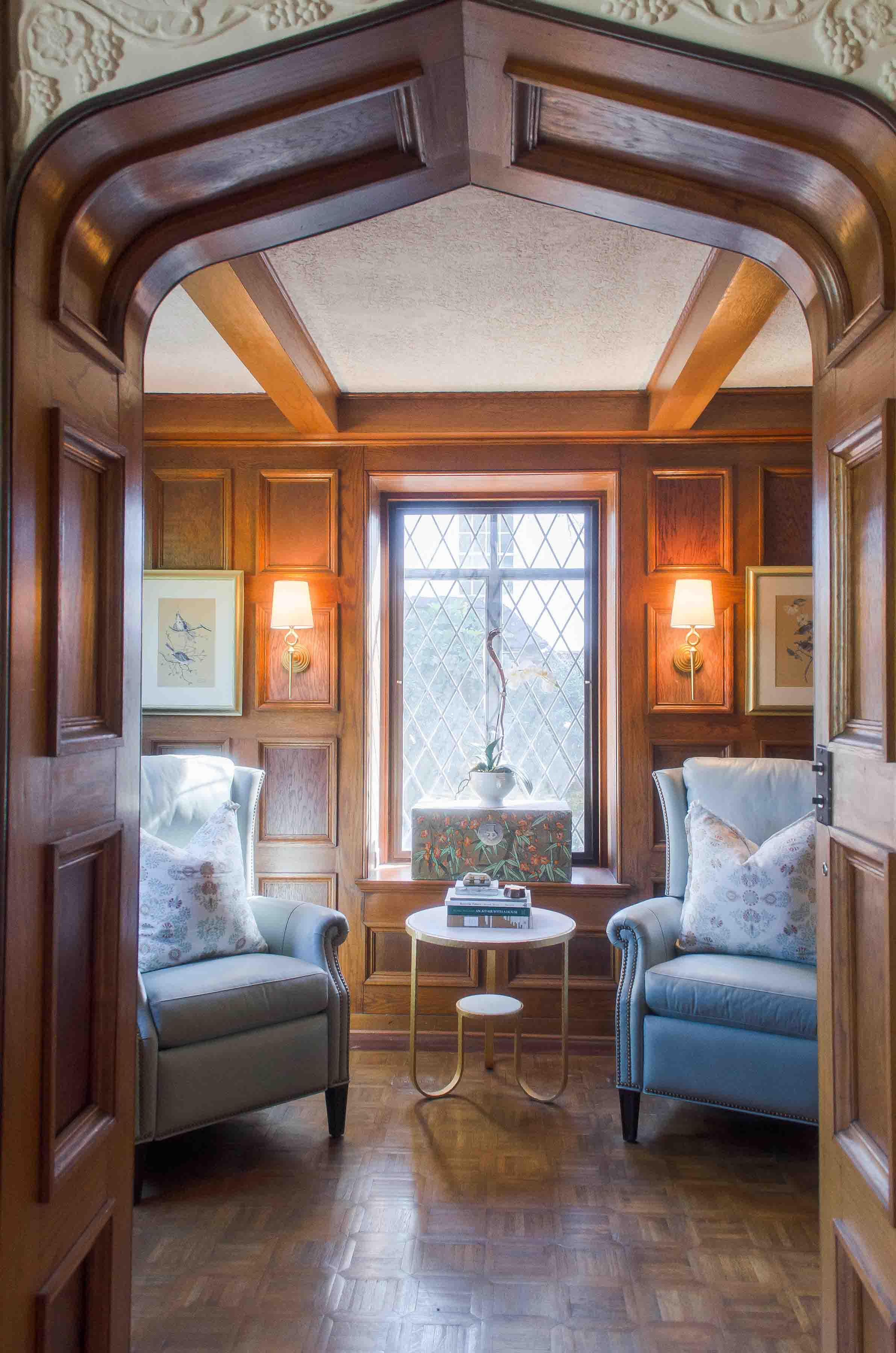 Dining Room & Library -