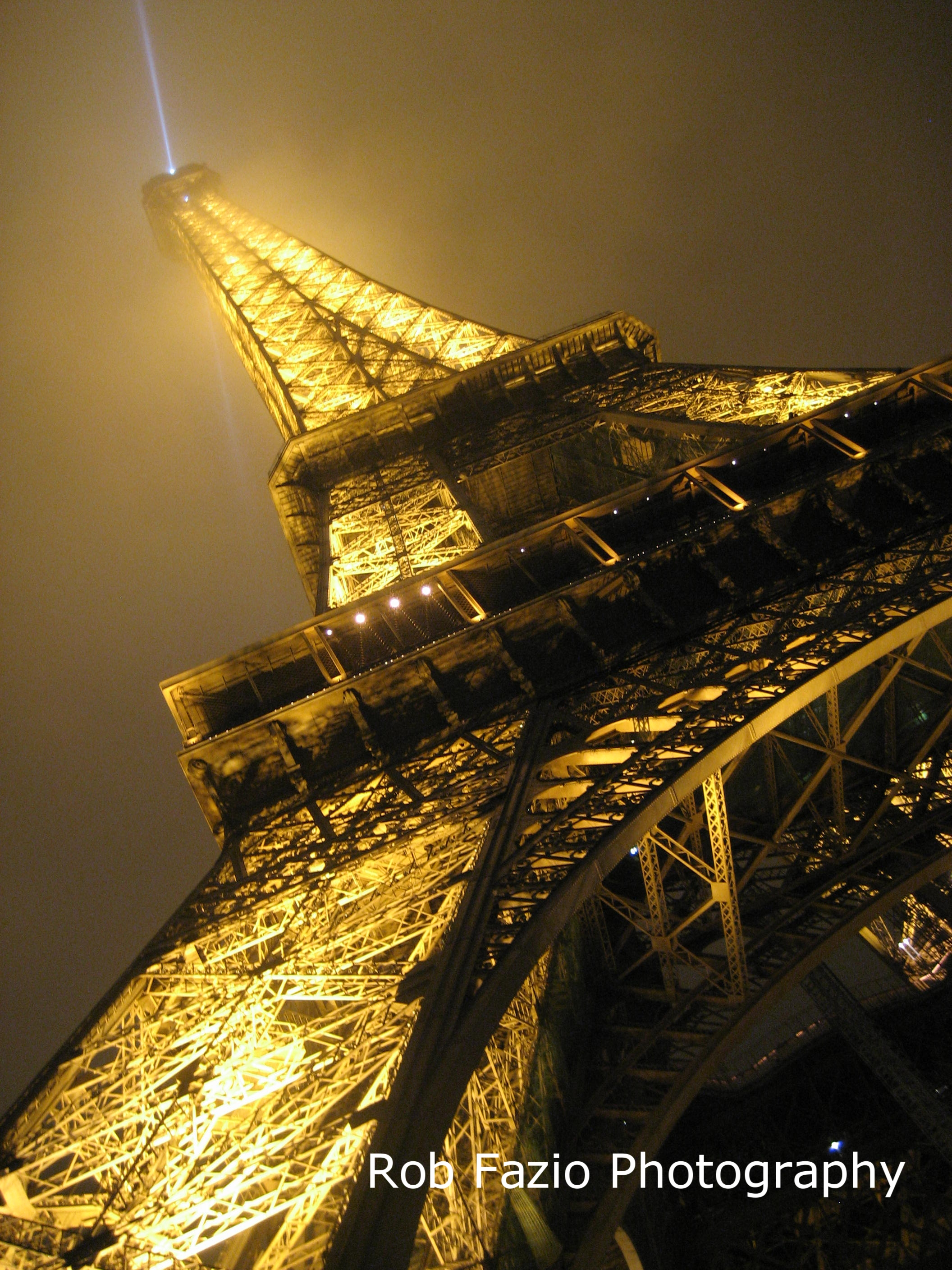 Eiffel in the Mist, Paris