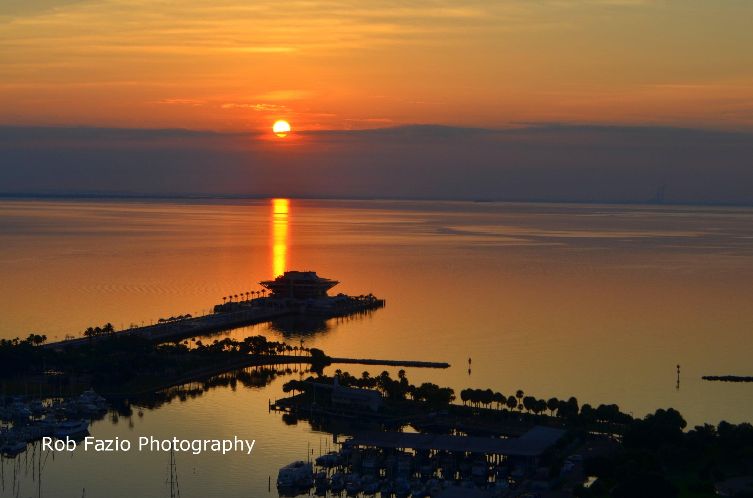 Sunrise Over Pyramid Pier