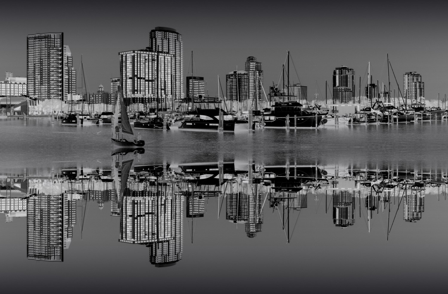 Downtown Reflection #4