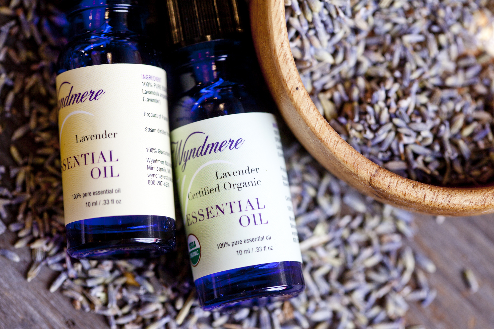 product photography essential oils