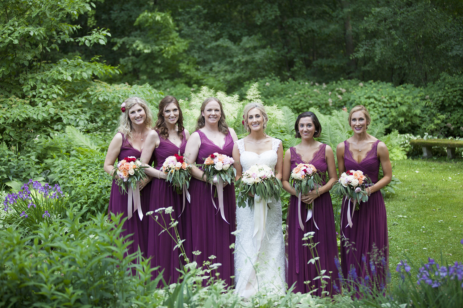 bridesmaids in garden.jpg