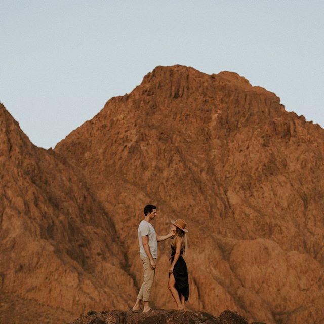 Can I go where you go? Can we always be this close?🎶💕 Thank you @montanaleephotography for sharing our love of the desert and taking these beautiful pictures of us in an element we love so much.  My husband is from Utah and it's where we first fell in love and also got engaged - so it's so special to have pictures of us there. :)