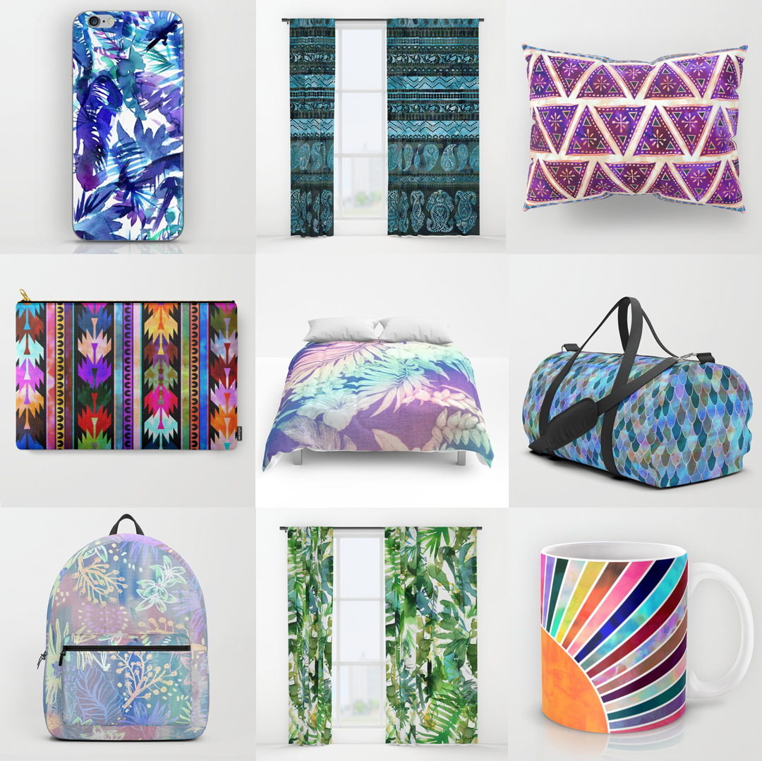 SOCIETY6 - Home Decor and Accessories
