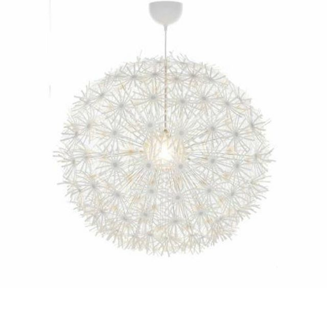 "We have three of the smaller IKEA lights left! They are 22"" in diameter. 45.00 -comment SOLD to claim"
