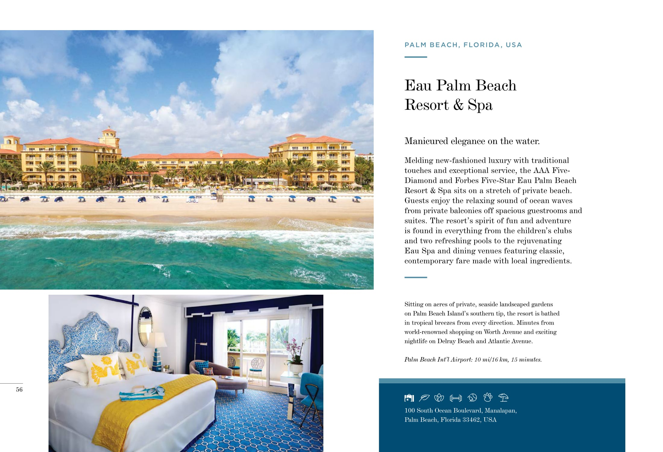 Eau Palm Beach Resort & Spa, Florida, USA