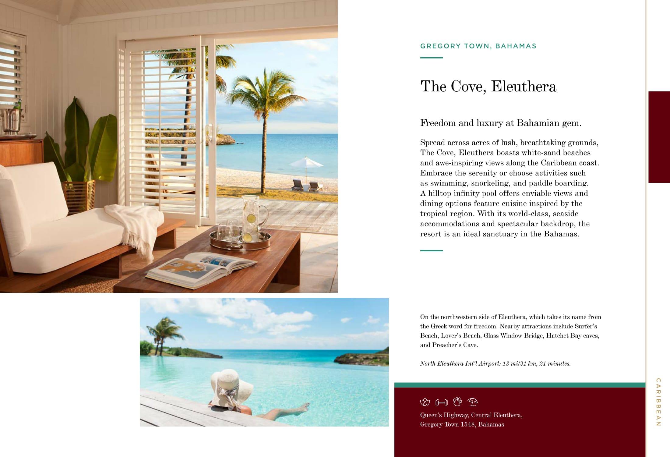 The Cove, Eleuthera, Bahamas