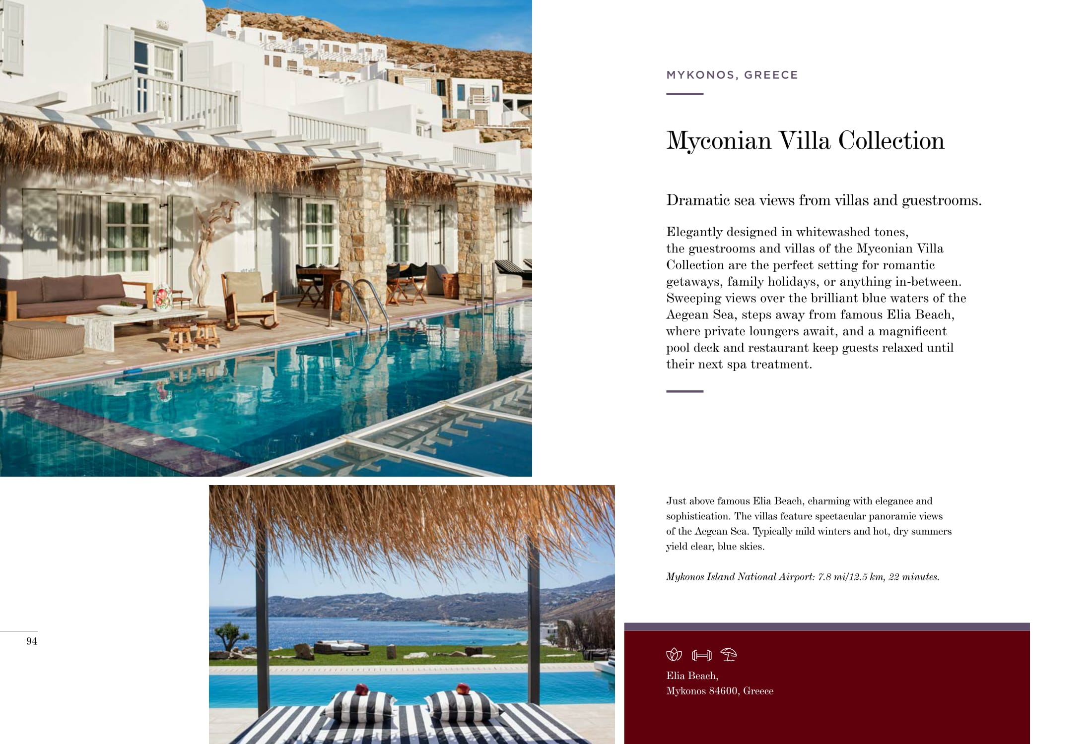 Myconian Villa Collection, Greece