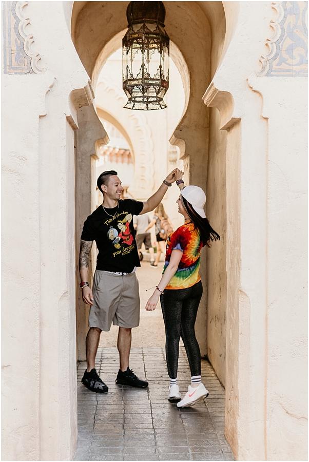 Amanda&TJ_Disney World Epcot_Couples Photography Session_0006.jpg