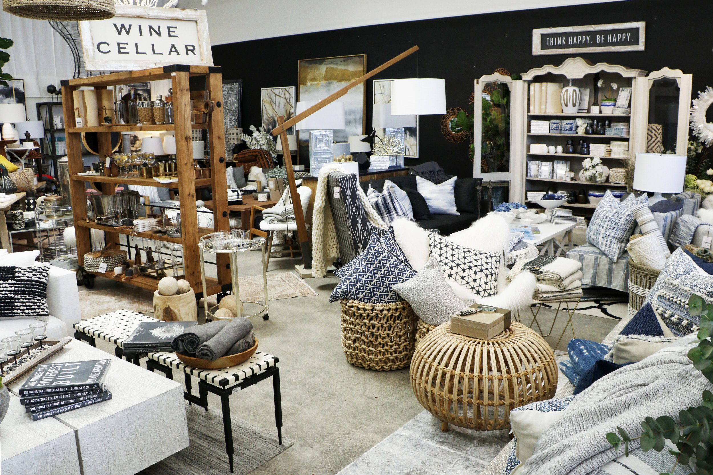 SHOP OUR LOOK - From custom upholestry to vintage and antique finds, our style is readily available online and in our Costa Mesa retail shop - The Wonder Room.