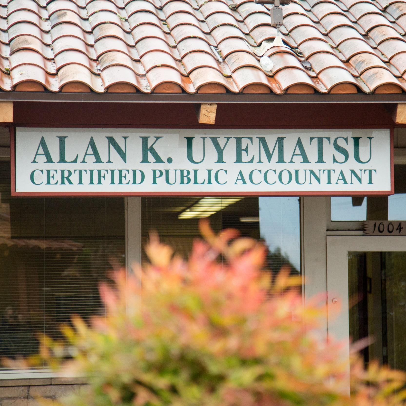 Alan Uyematsu, CPA   1004 E Lake Ave, Watsonville, CA 95076 P.(831) 724-1319