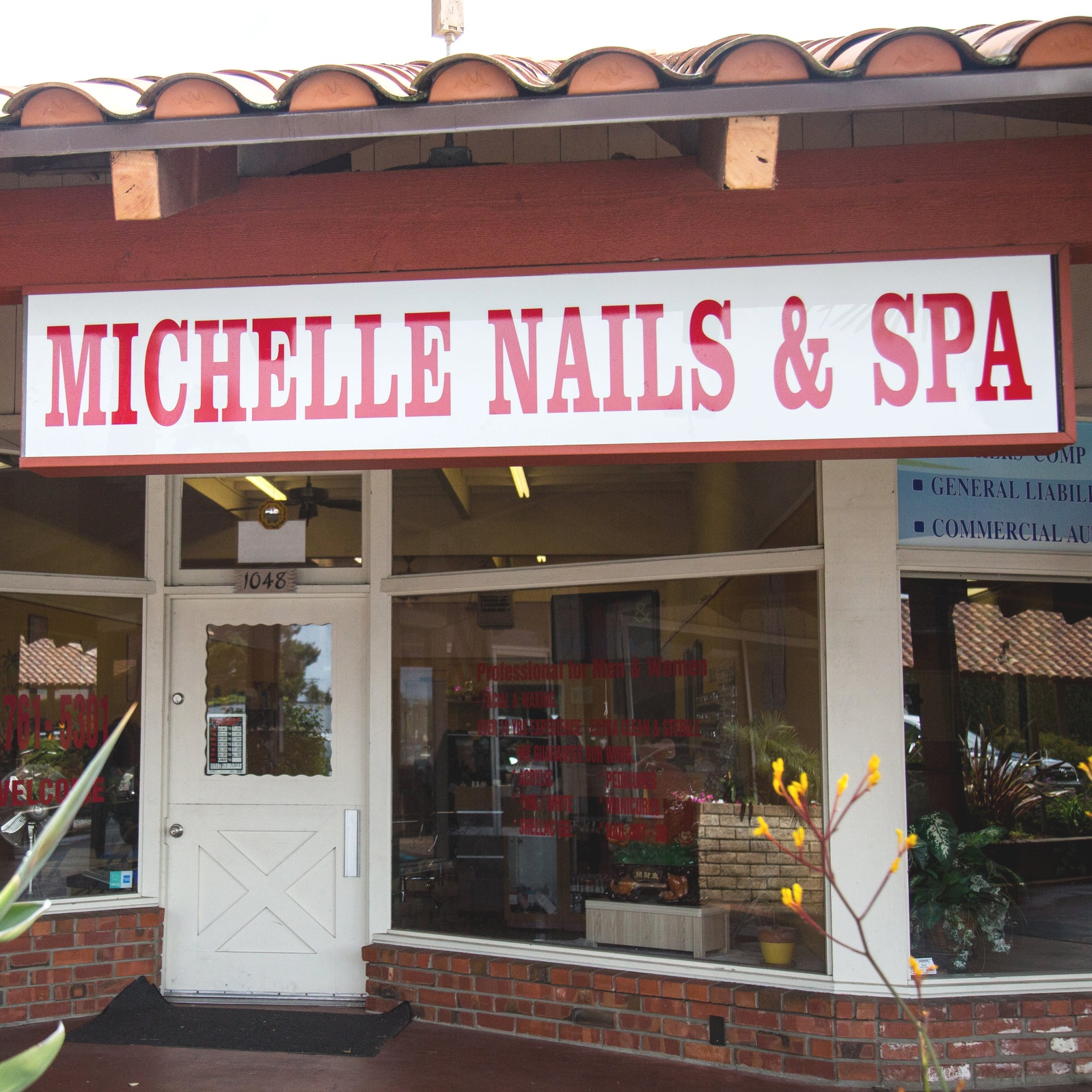 Michelle Nails and Spa   1048 East Lake Ave. Watsonville, CA 95076  (831)761-5301