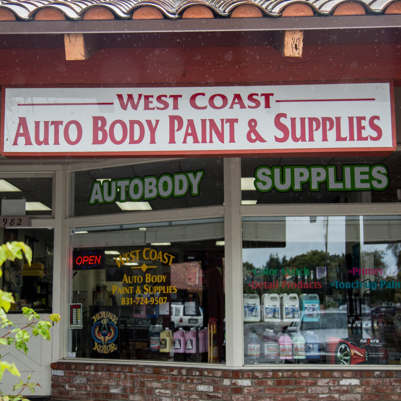 West Coast Autobody & Supply   952 East Lake Ave. Watsonville, CA 95076  (831)724-9507   Follow on:  Facebook  Visit website  HERE