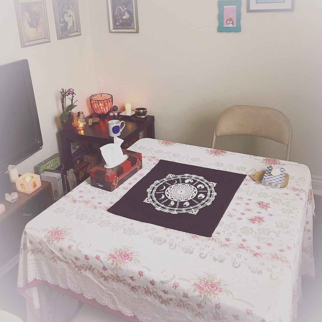 Online & In-Person - I offer readings by E-mail & Skype, as well as in-person at my in-home studio located in Burlington, Ontario, Canada. No matter where you are in the world, I offer affordable, accessible guidance through Tarot.