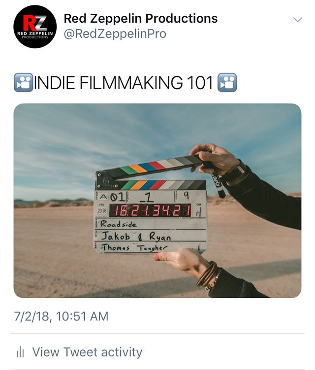 Be the producer you always wanted to be! ✊🏾 Most of the time, people can get overwhelmed at the thought of making their first independent film. It doesn't have to be as scary as it seems if you build a team and surround yourself with like minded individuals.