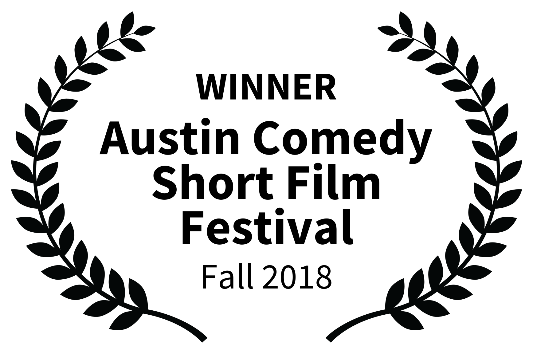 WINNER - Austin Comedy Short Film Festival - Fall 2018 Black - Copy.png