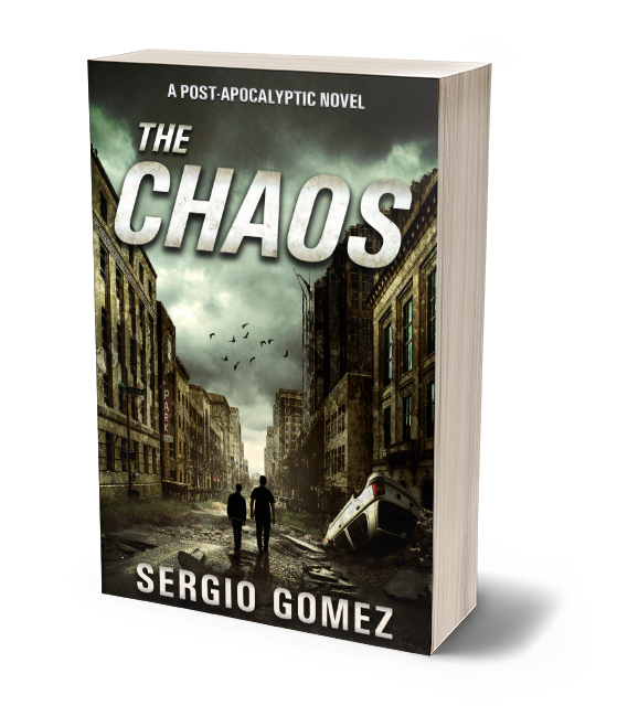 The Chaos - Alejandro Ramos and his son Charlie are two of the last remaining survivors of The Chaos, an apocalyptic event which brought about the end of civilization. Wandering through the ruins of Northern Pennsylvania, they hope to find refuge in the company of other survivors. Their effort seems futile until Alejandro's radio finds the voice of a man offering food and shelter to anyone alive. Everything depends on them making it to the given location...and staying out of sight of the creatures that rule when the sun goes down.Buy now on Amazon