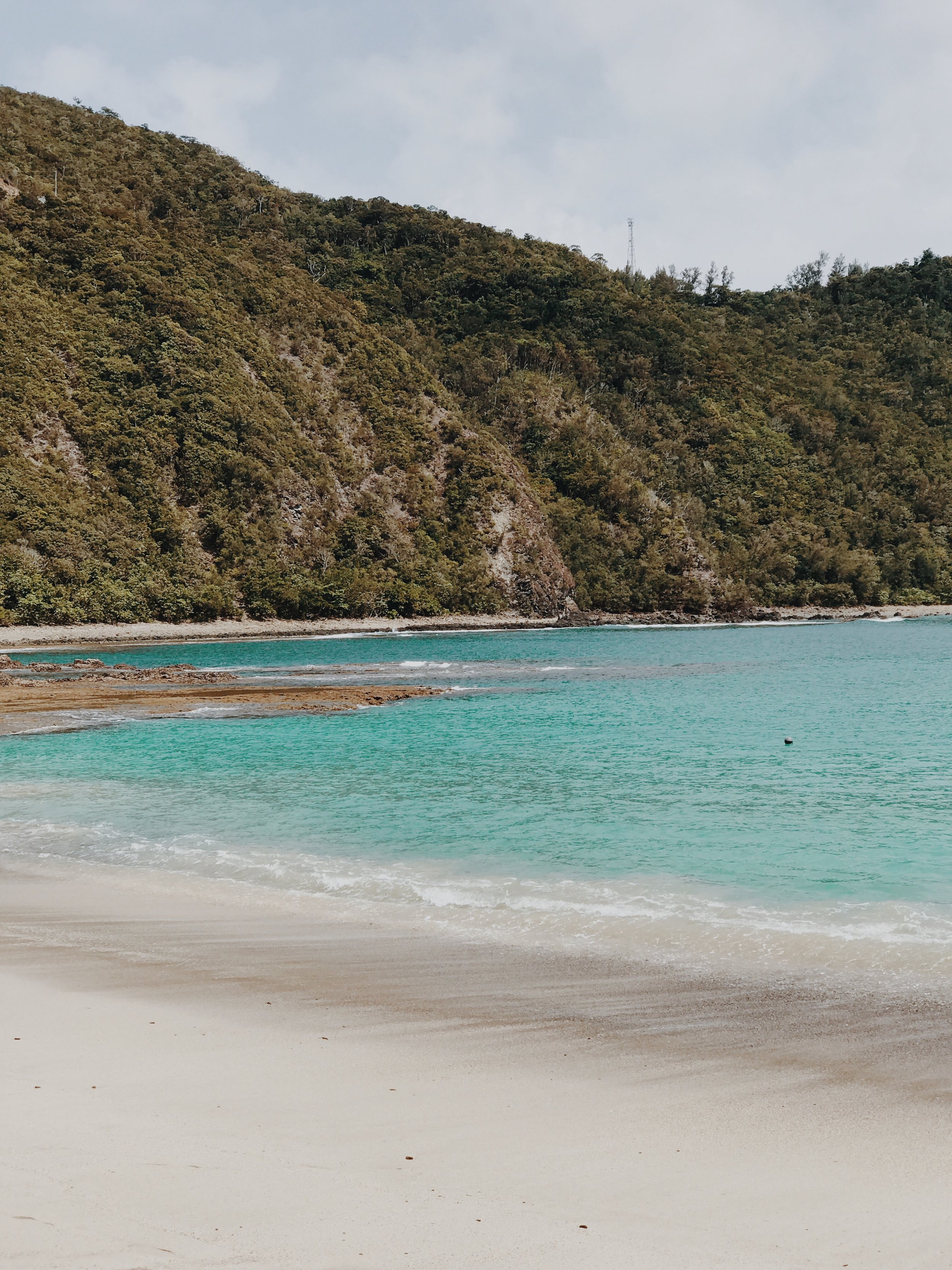 Beach in Baler, The Philippines