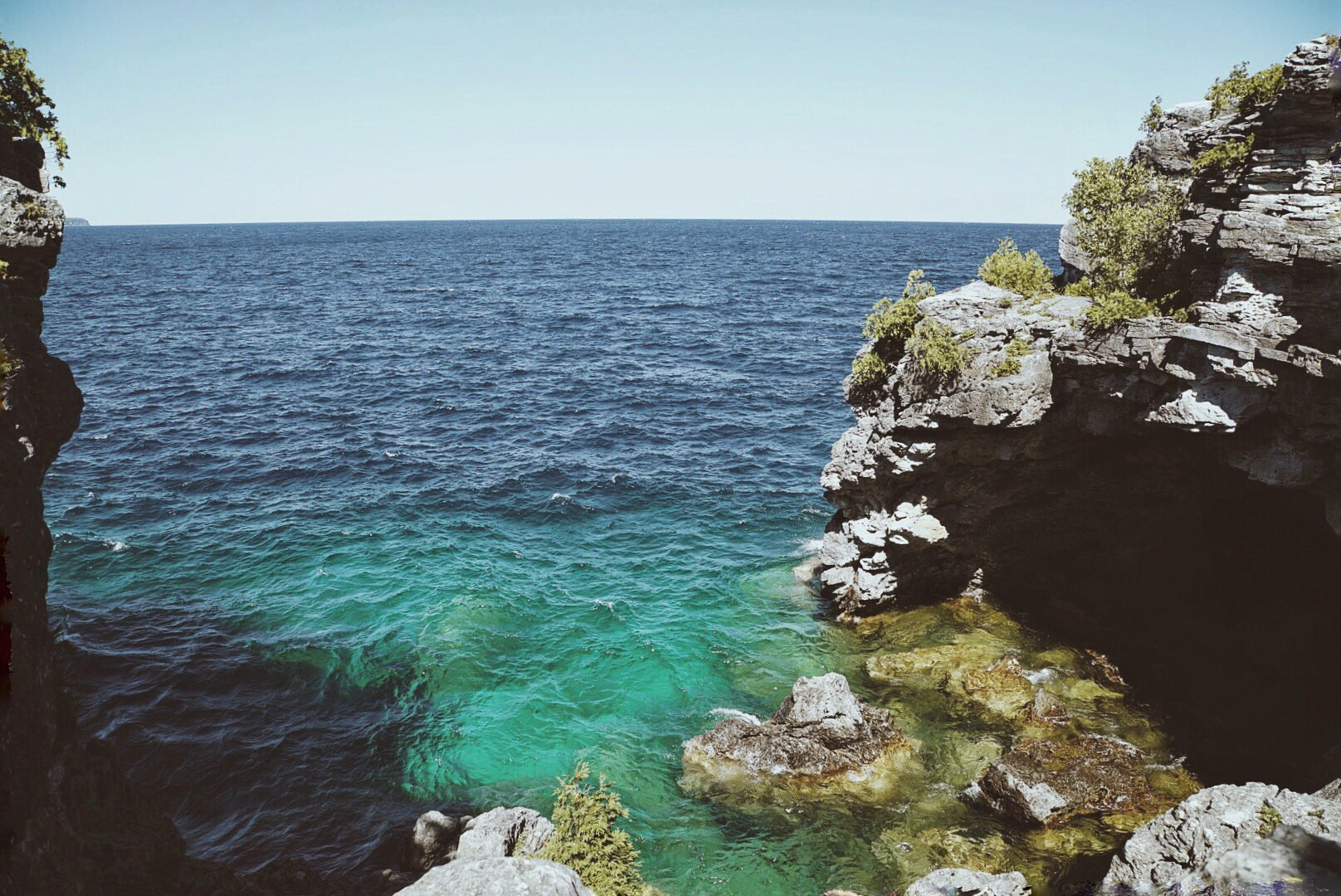 Indian Head Cove and the Grotto