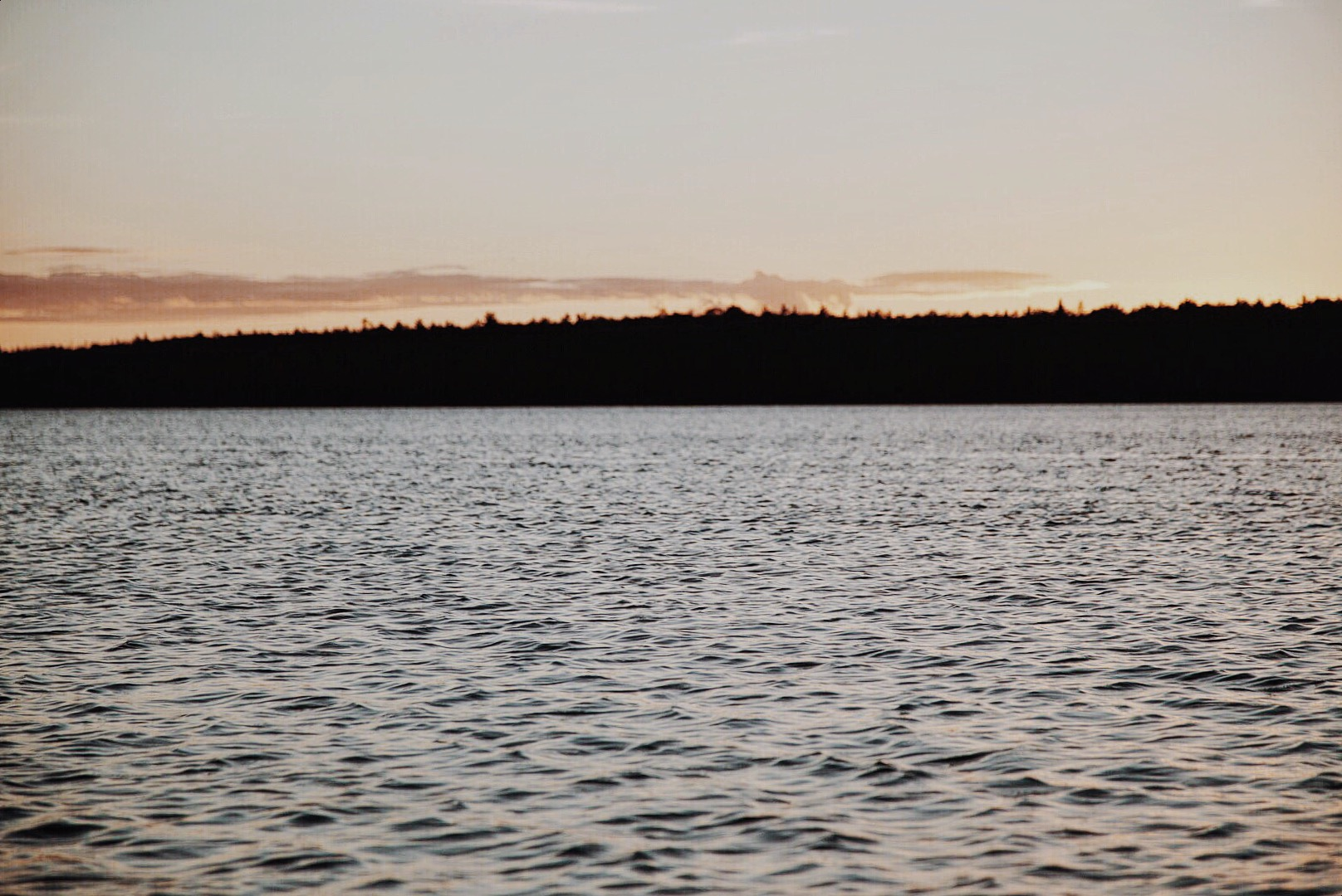 Camping in the Bruce Peninsula in Northern Ontario