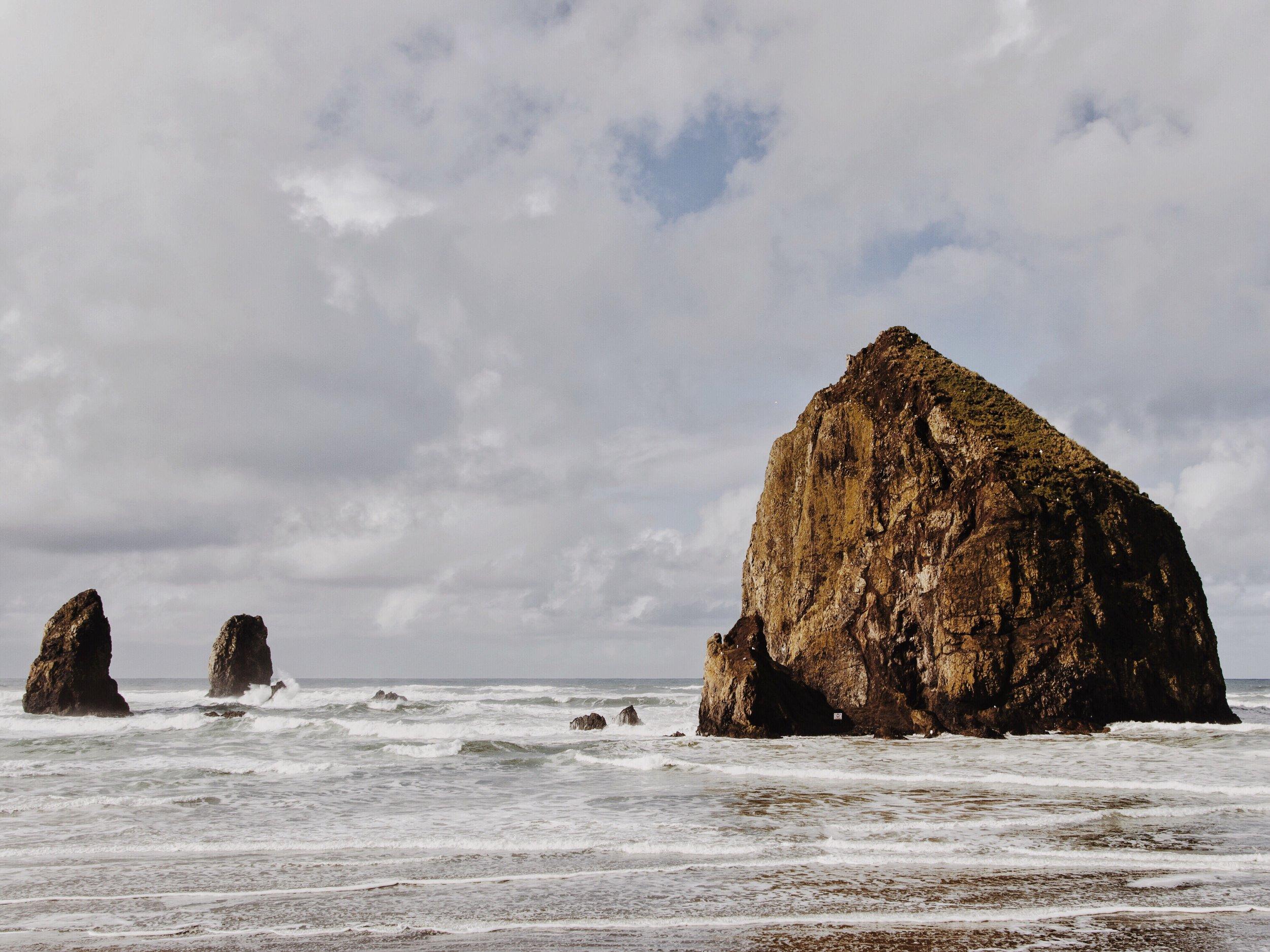 Haystack Rock at Canon Beach