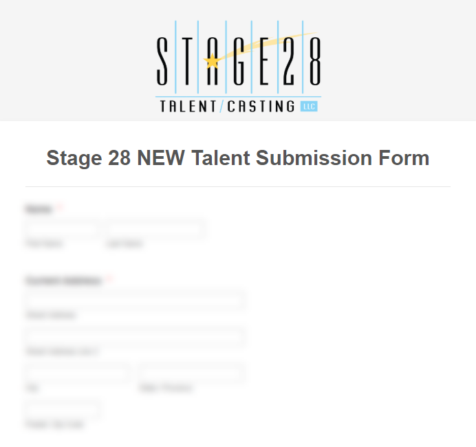 NEW TALENT - Please be ready to submit 4 images wearing denim jeans and a black shirt or tank: Smiling head-shot, Full length, Side Profile, & Back profile. Non-Posed with good Posture. **Be sure to upload only high-resolution photos.