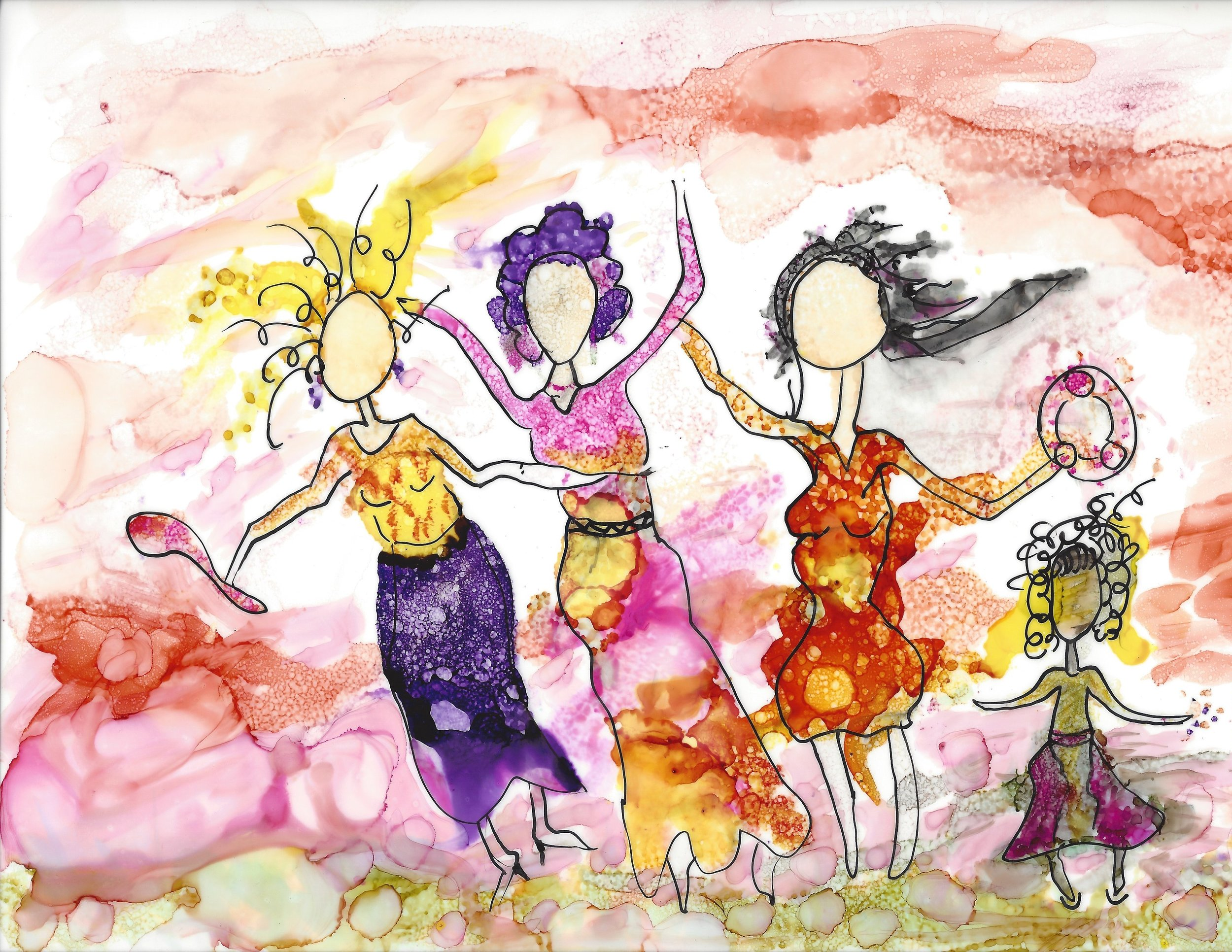 May You Dance, 9x12  Click HERE  to purchase