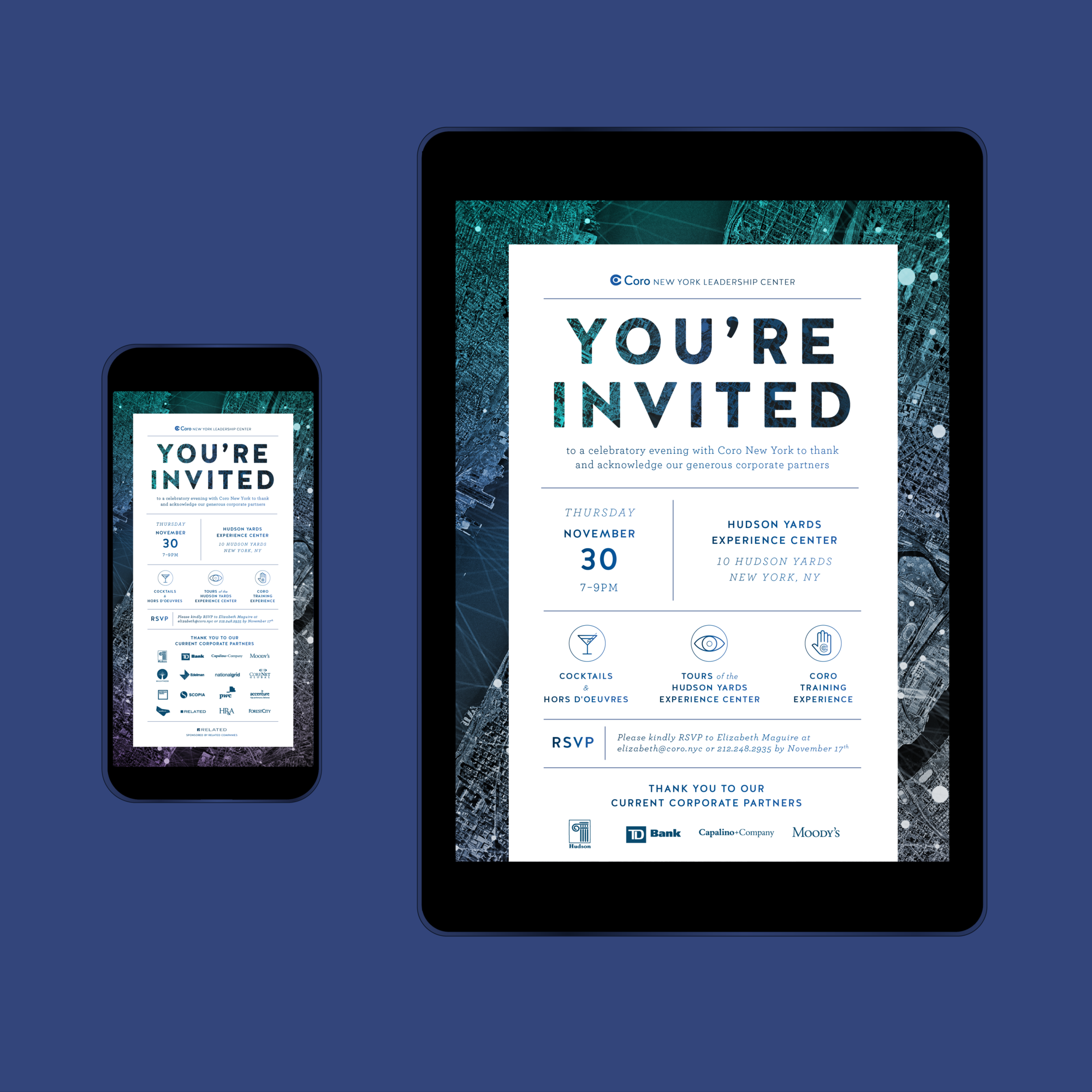 CORO NEW YORK  —  Branding, Digital, Print