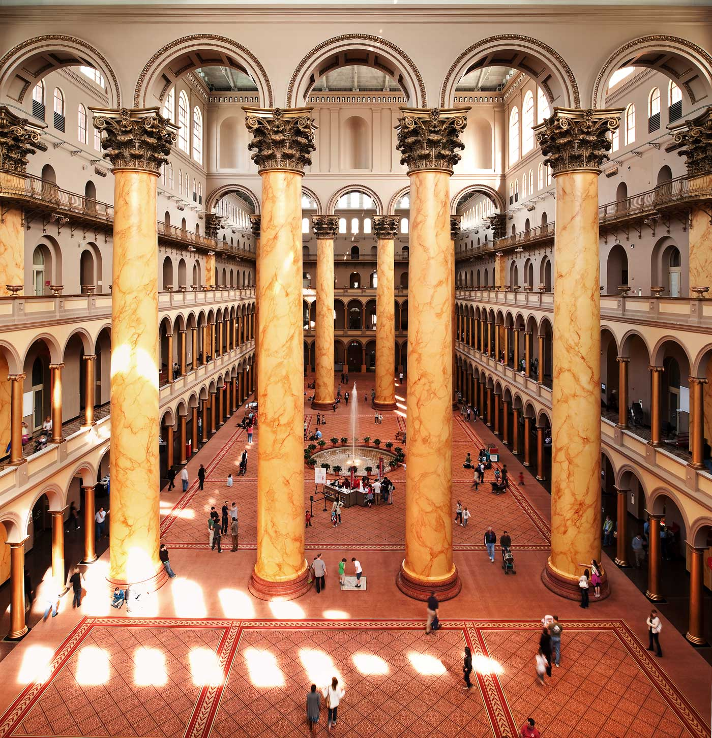 The Great Hall at the National Building Museum