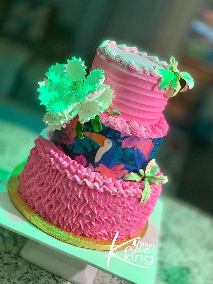 Online Tropical Cake Class