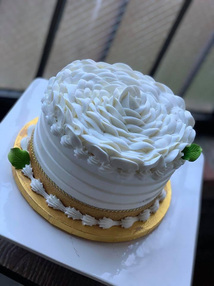 Rose Cake Class